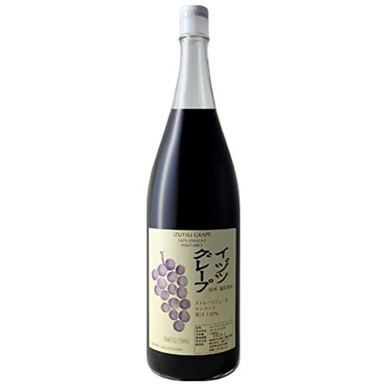 井筒ワイン,イヅツグレープ コンコード ストレート天然果汁100%