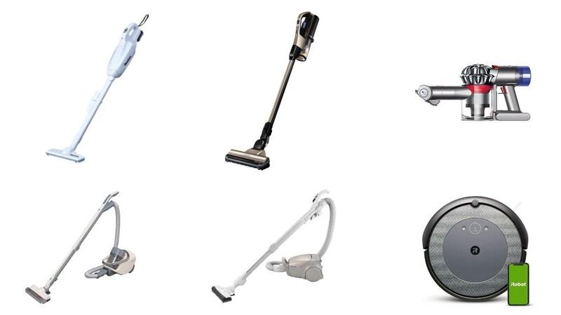 【2021】掃除機のおすすめ人気ランキング30選|吸引力や価格を比較!集塵方法・種類別に紹介
