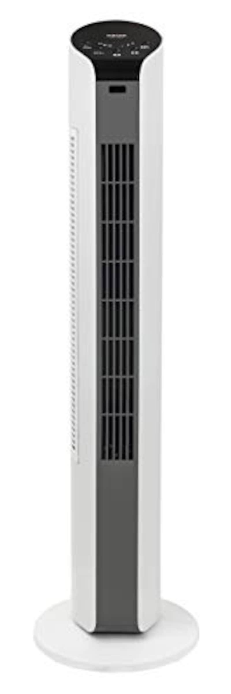 山善(YAMAZEN),扇風機 スリムファン,YSR-T802(WH)