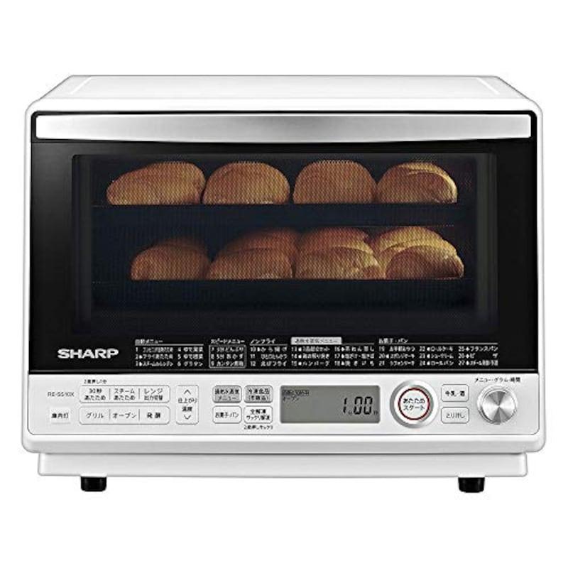 シャープ(SHARP),オーブンレンジ 過熱水蒸気 コンベクション,RE-SS10X-W
