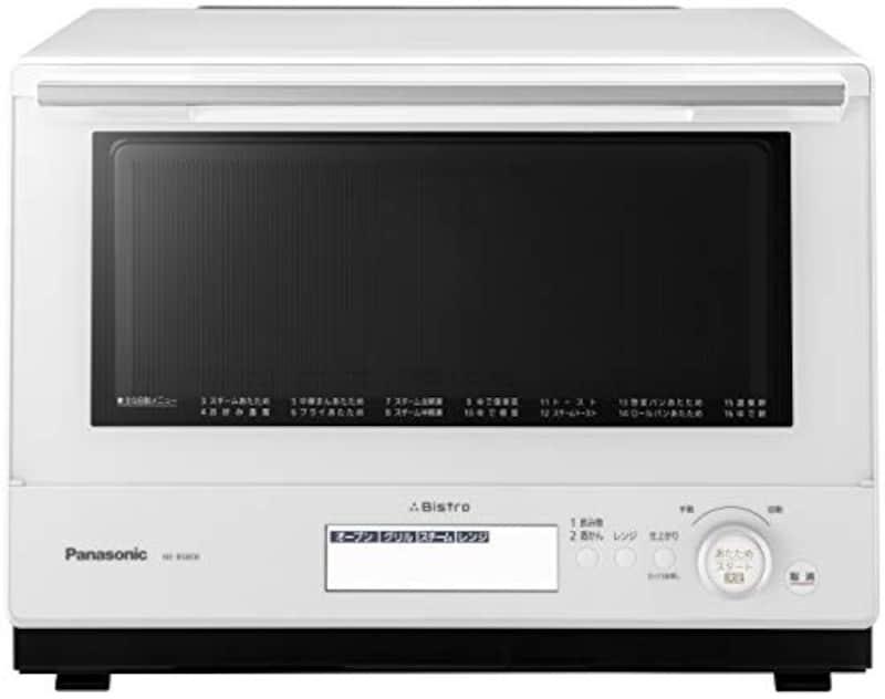 Panasonic(パナソニック),ビストロ スチームオーブンレンジ 30L ホワイト,NE-BS808-W
