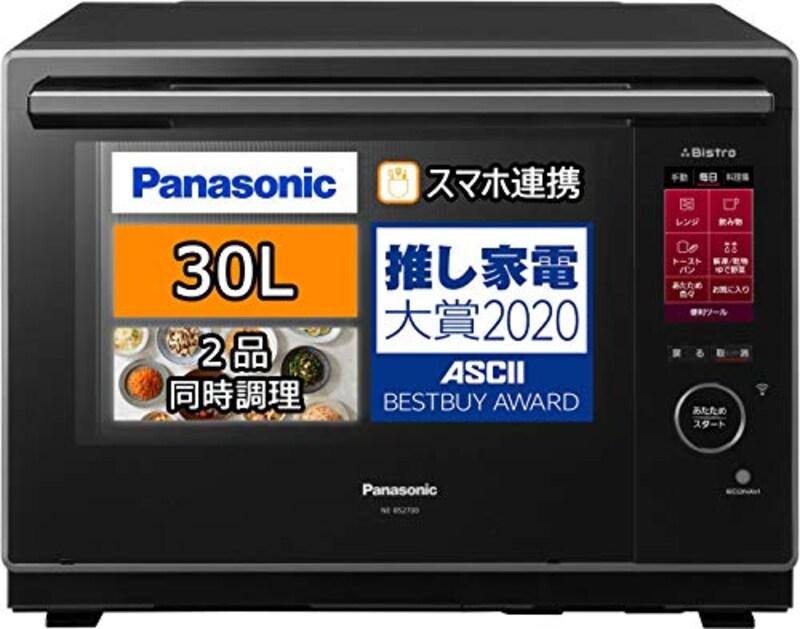 Panasonic(パナソニック),ビストロ スチームオーブンレンジ 30L,NE-BS2700-K
