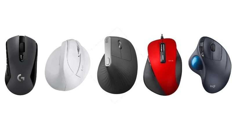 疲れにくいマウスのおすすめ人気ランキング12選|人間工学エルゴノミクスデザインのものを!