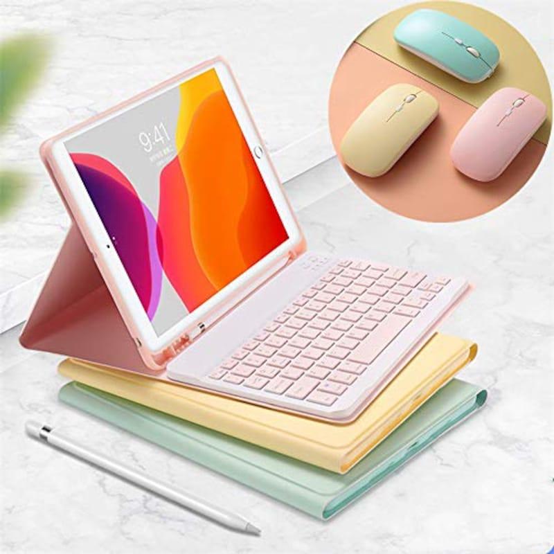 YEEHi/XURUIKEJI,iPad Air 2020年型 キーボードケース 3点セット
