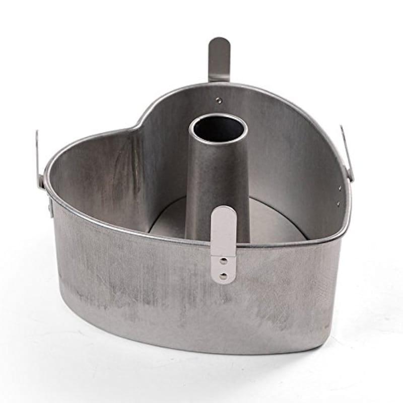 タイガークラウン,アルスター 安全シフォンケーキハート型底取 17cm,1313