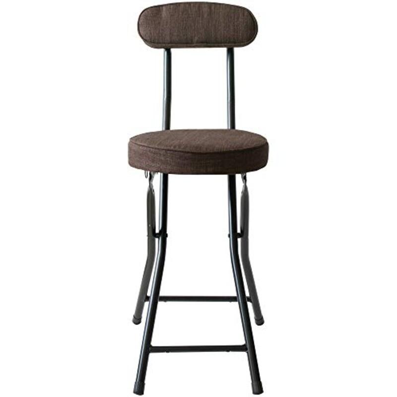 アイリスプラザ (IRIS PLAZA),チェア 椅子 折りたたみ ブラウン