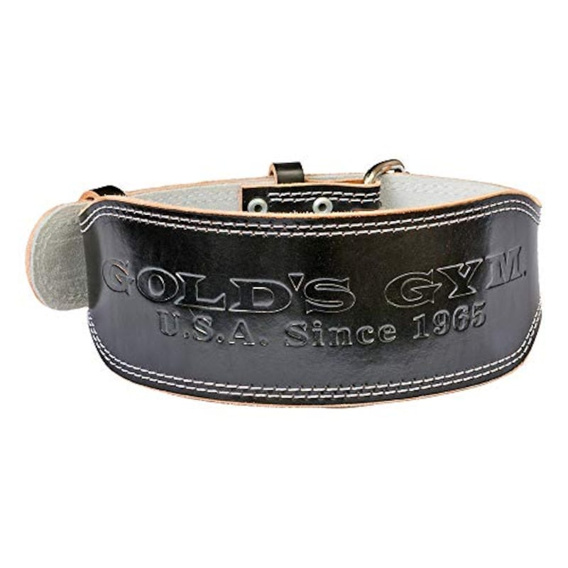 GOLD'S GYM(ゴールドジム),EXレザーベルト,G3322