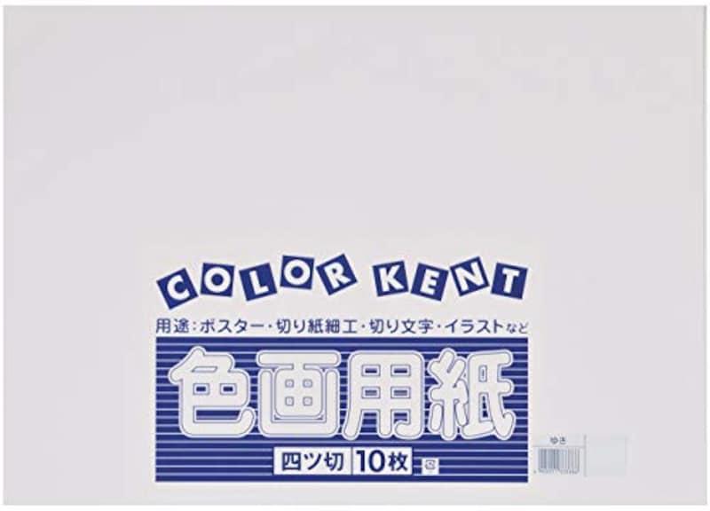 大王製紙,再生色画用紙ゆき(雪),B002492NU0