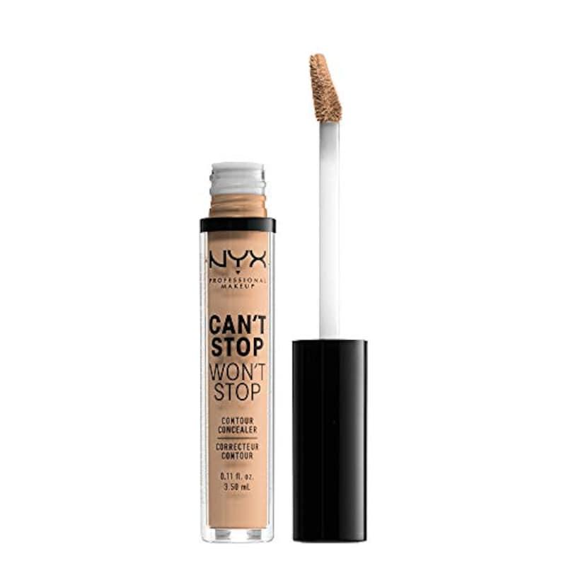 NYX Professional Makeup(ニックス プロフェッショナル メイクアップ),キャントストップ ウォントストップ コントゥアー コンシーラー