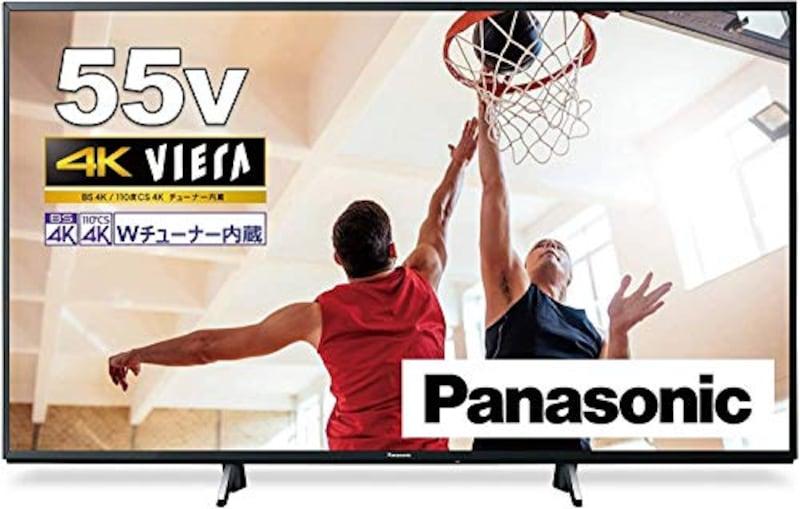 Panasonic(パナソニック),4Kダブルチューナー内蔵 液晶 テレビ VIERA,TH-55GX755