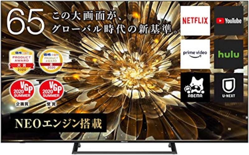Hisense(ハイセンス),4Kチューナー内蔵 液晶テレビ,65S6E
