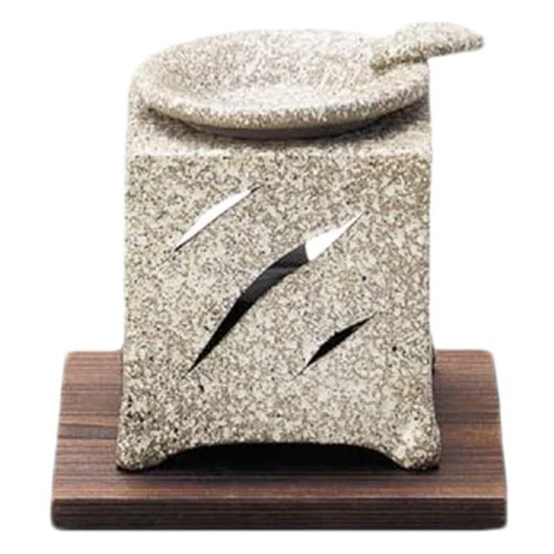 常滑,角型茶香炉