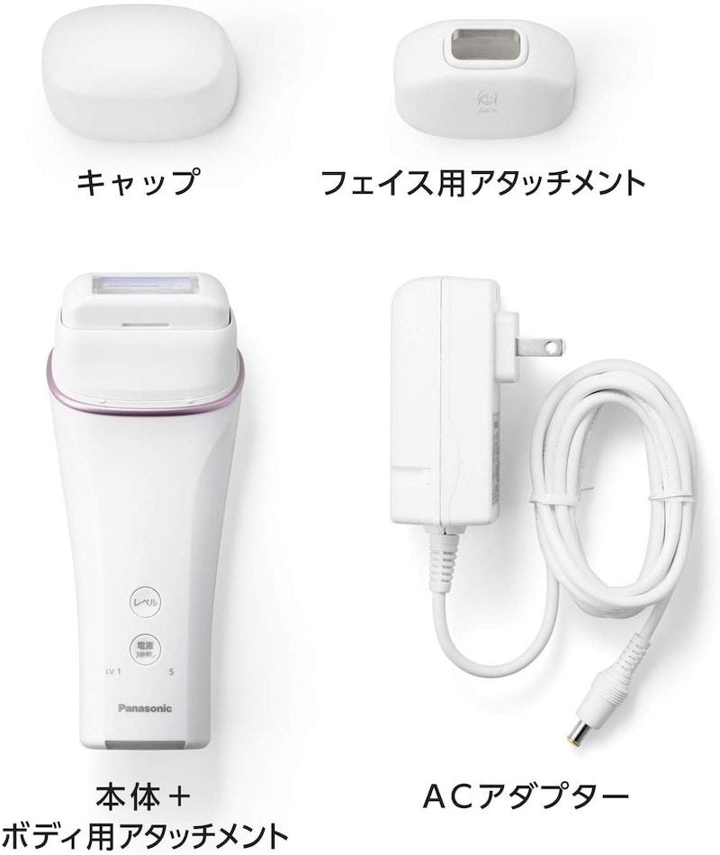 Panasonic(パナソニック),光エステ ボディ&フェイス用 コンパクトタイプ,ES-WH76-P