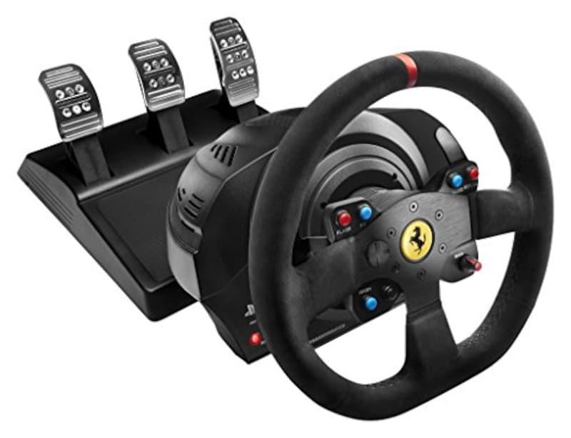 Thrustmaster(ストラトマスター),T300 Ferrari Integral Racing Wheel Alcantara Edition,4160660