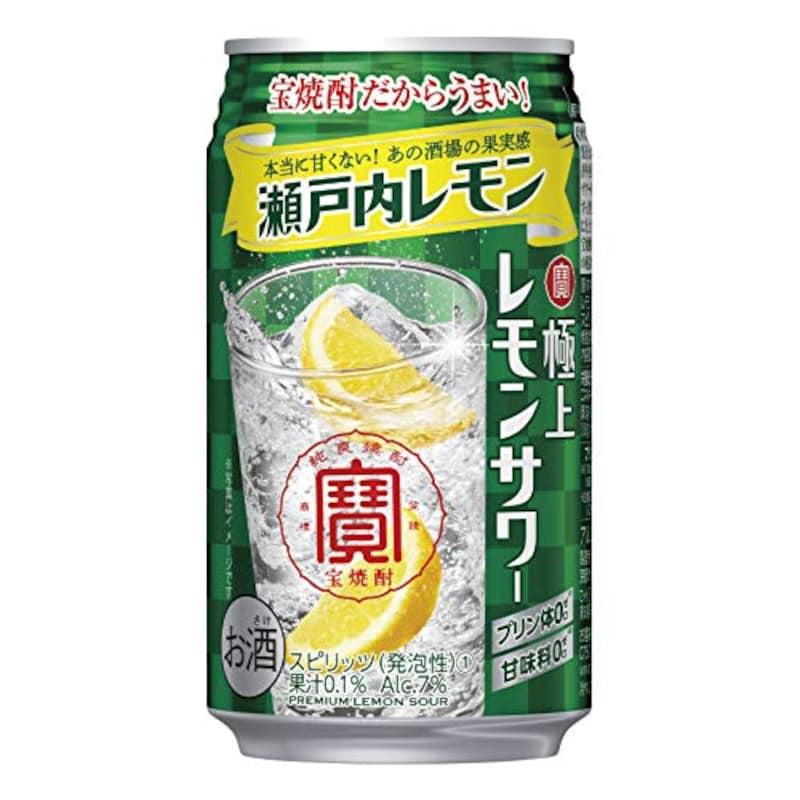 宝酒造,極上レモンサワー 瀬戸内レモン