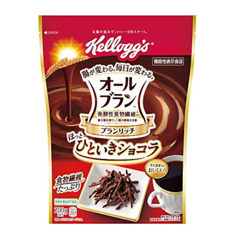 kelloggs(ケロッグ),オールブラン ブランリッチ ほっとひといきショコラ
