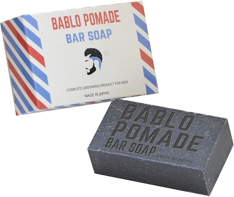 BABLO POMADE(バブロポマード),バーシャンプー・メンズ用固形石鹸
