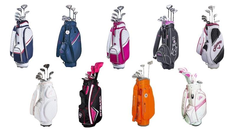 レディース用ゴルフクラブセットの初心者向け選び方とおすすめ人気21選【フルセット・ハーフセット】