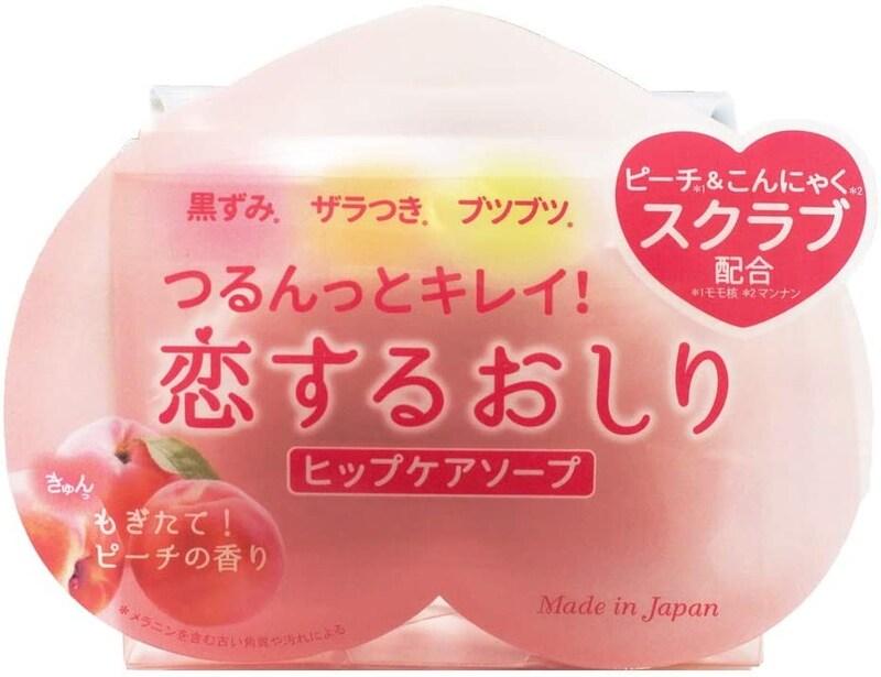 ペリカン石鹸,恋するおしり ヒップケアソープ,I0097435