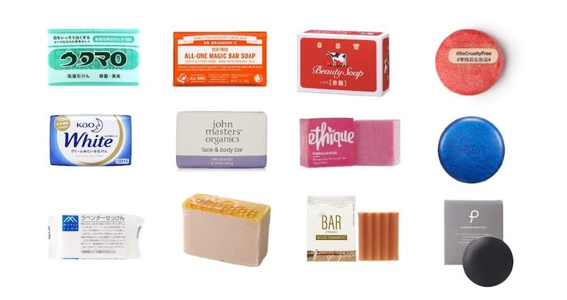 固形石鹸おすすめ人気ランキング40選|洗顔やシャンプーに使えるものや保管方法もご紹介