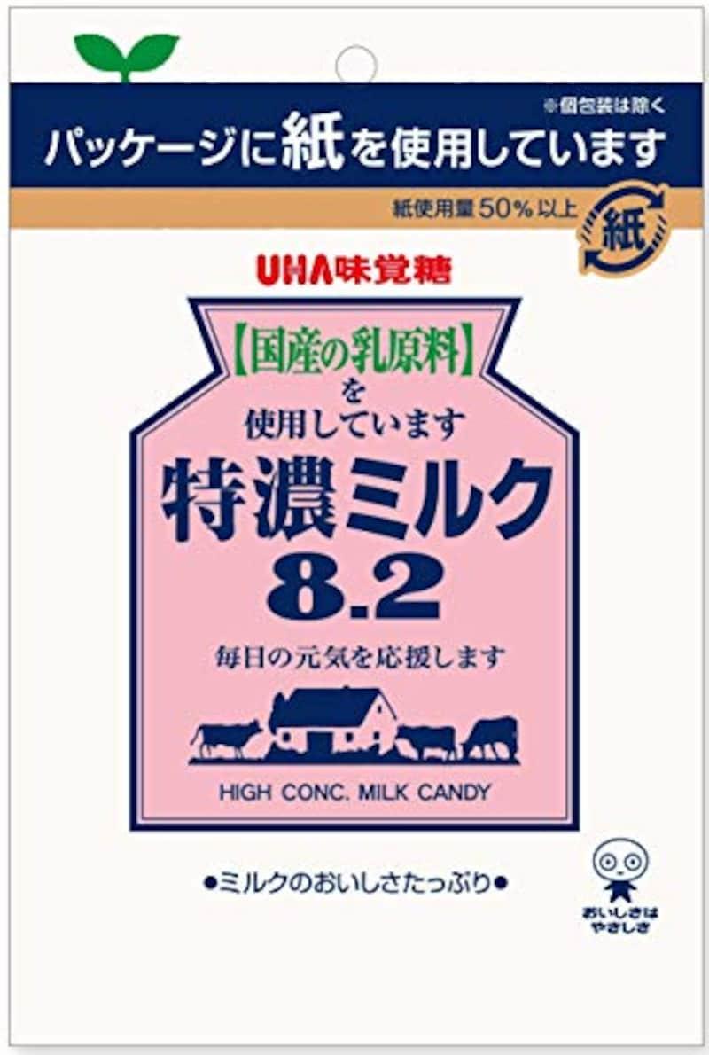 味覚糖 ,特濃ミルク8.2