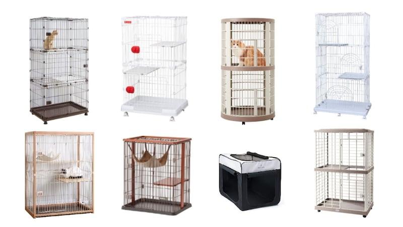 猫用ケージおすすめ人気26選|おしゃれな木製&子猫向けサイズや大型商品も!レイアウトのコツも紹介