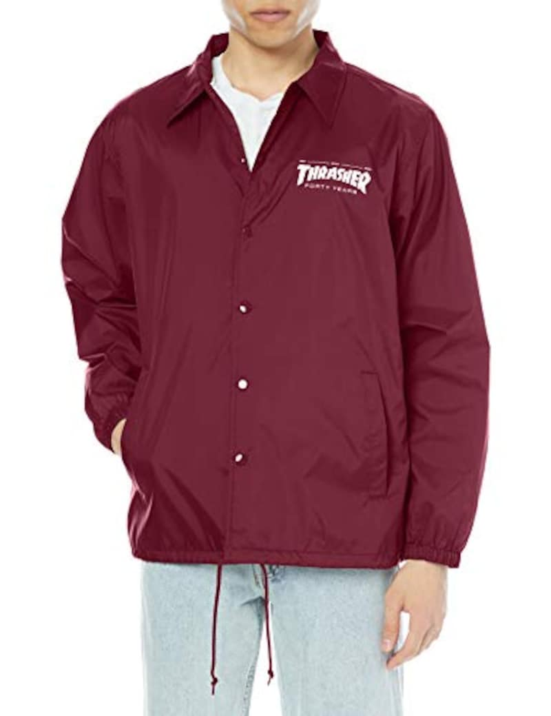 THRASHER(スラッシャー),FORTY YEARS COACH JACKET,TH99283C