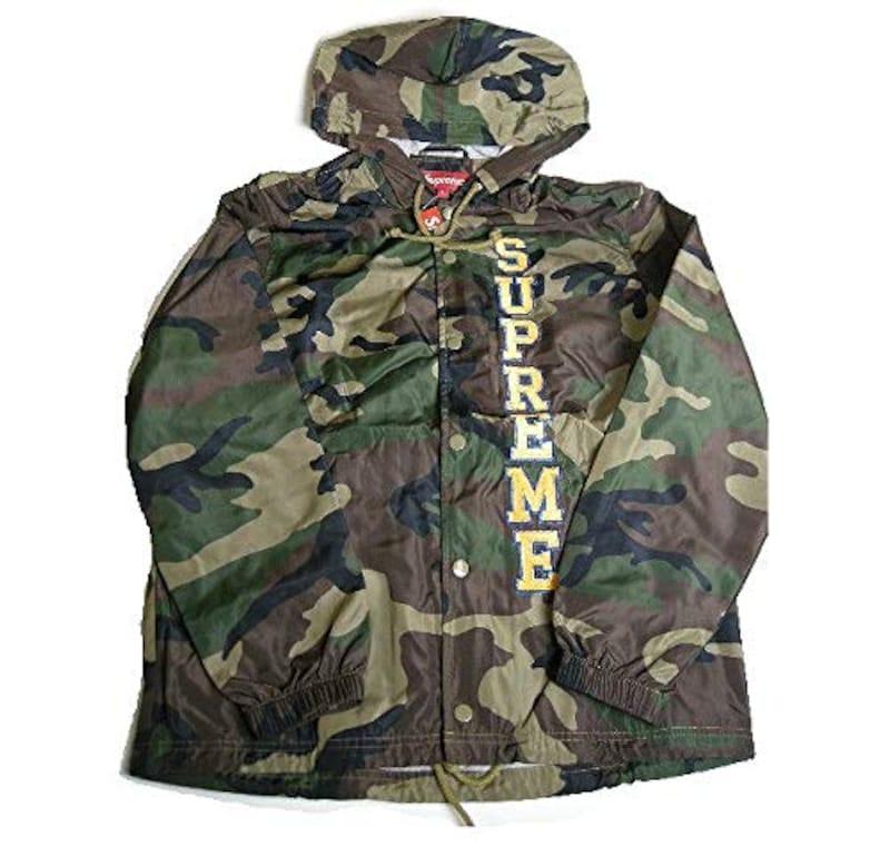 Supreme(シュプリーム),Vertical Logo Hooded Coaches Jacket