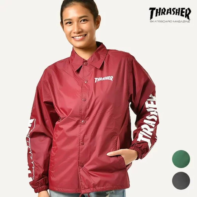 THRASHER(スラッシャー),レディース コーチジャケット,TH8901-SC L