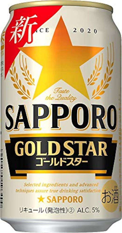 サッポロ,GOLD STAR  350ml×24本