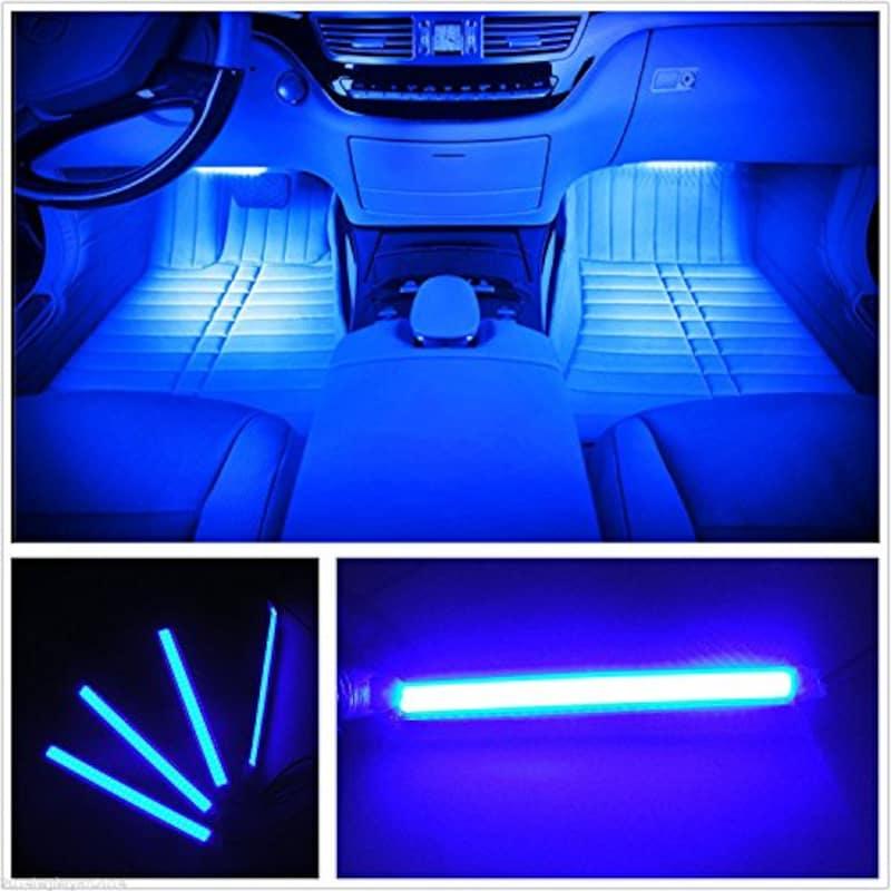 EJ's SUPER CAR,カー内部LED装飾ライト シングルカラーモード