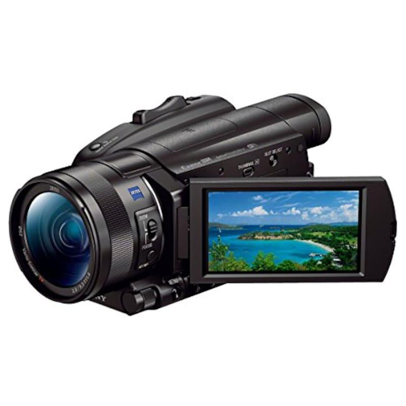 SONY(ソニー),4Kビデオカメラ,FDR-AX700
