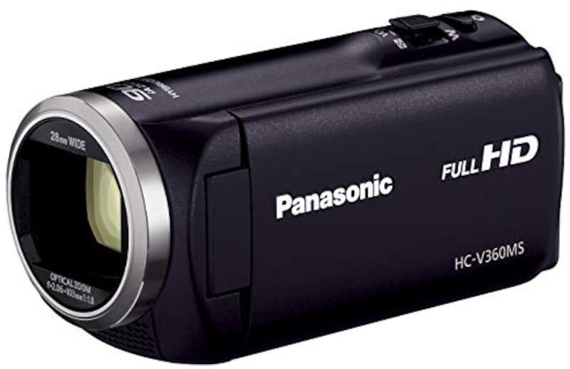 Panasonic(パナソニック),HDビデオカメラ,HC-V360MS-K