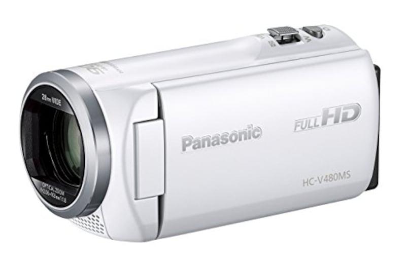 Pansonic(パナソニック),HDビデオカメラ,HC-V480MS-W