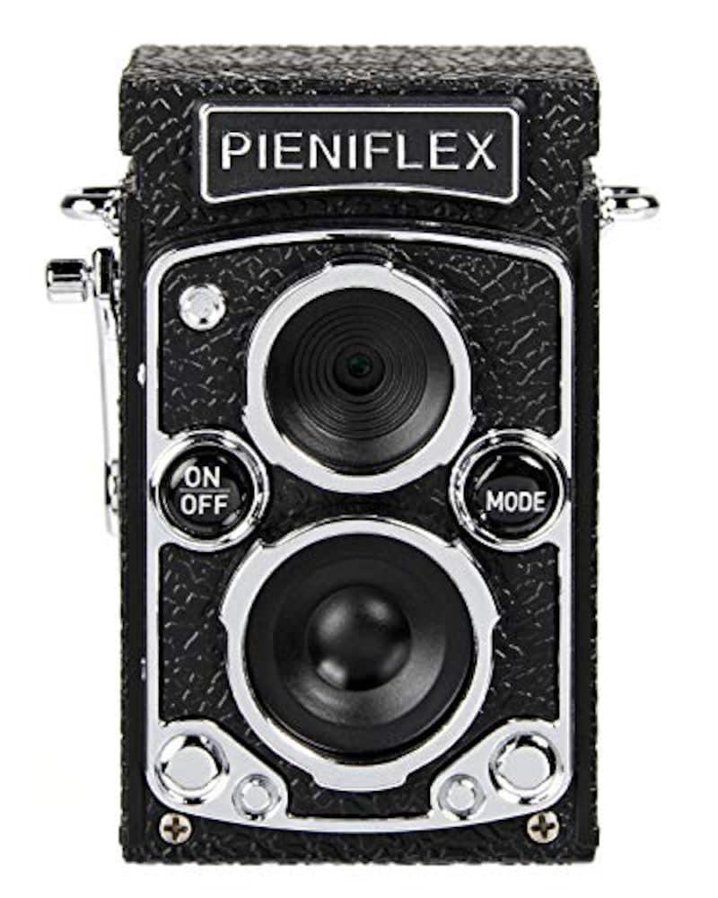Kenko(ケンコー),二眼レフ型クラシックデザイントイデジカメ PIENIFLEX,KC-TY02
