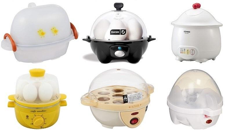 ゆで卵メーカーのおすすめ人気ランキング11選|半熟も温泉卵も簡単に!