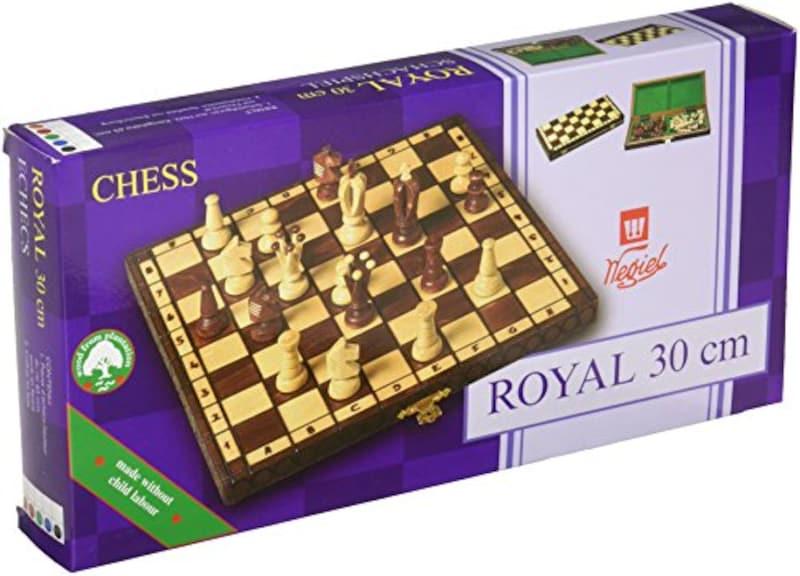 Wegiel,木製チェスセット ロイヤル