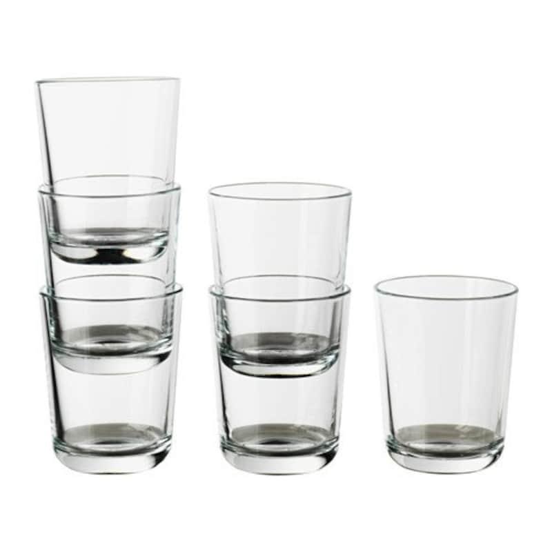 【IKEA/イケア】,IKEA 365+ グラス, クリアガラス/ 6 ピース