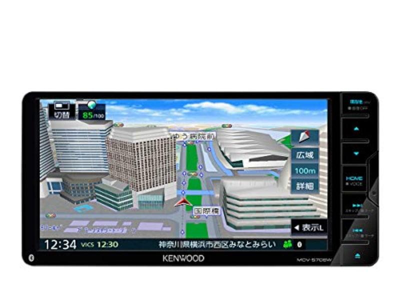 KENWOOD(ケンウッド),彩速ナビゲーションシステム 7インチワイド,MDV-S708W