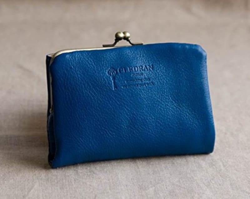 CLEDRAN(クレドラン),二つ折りがま口財布