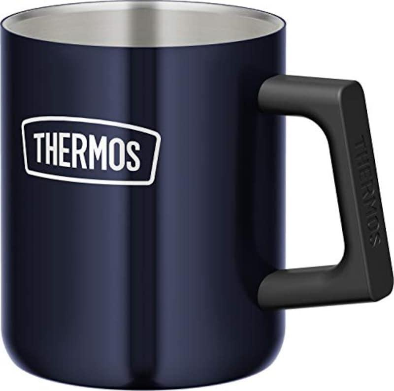 サーモス(THERMOS),真空断熱マグカップ 350ml ミッドナイトブルー,ROD-006