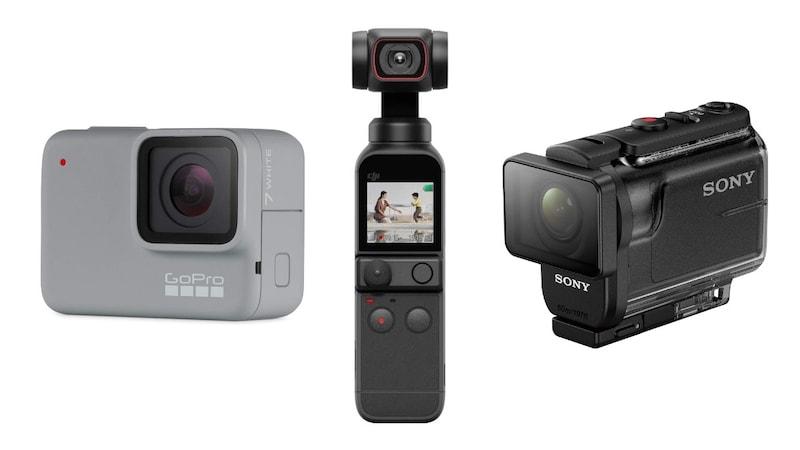 【2021】アクションカメラおすすめ人気ランキング25選|本格派もコスパ優良モデルも!スペックや価格を徹底比較!