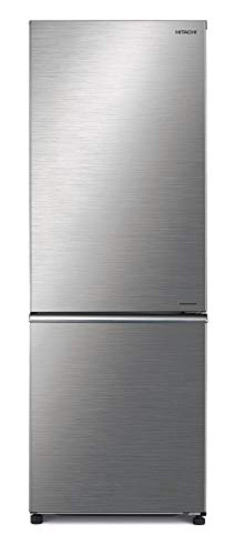 HITACHI(日立),2ドア冷蔵庫 ブリリアントシルバー,R-BF28NA S