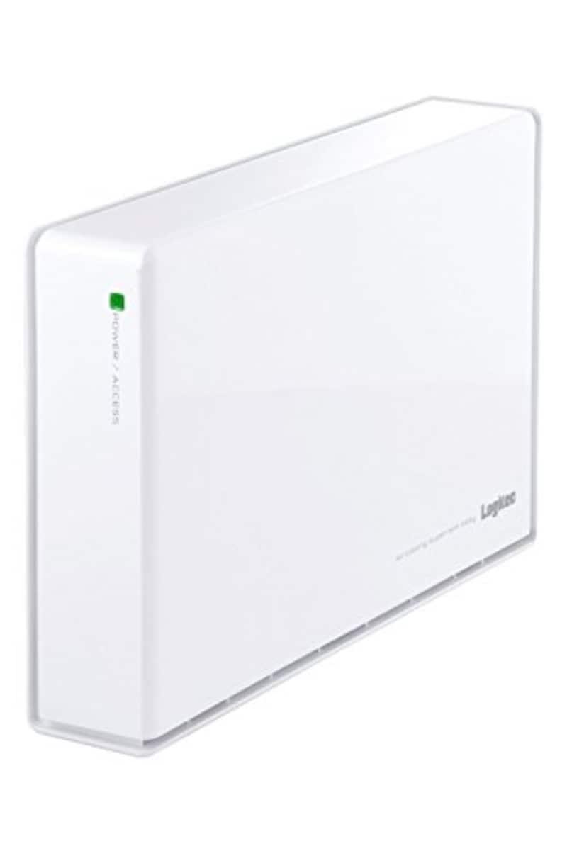Logitec(ロジテック),WD Red Plus搭載 外付けHDD,LHD-ENA020U3WRH