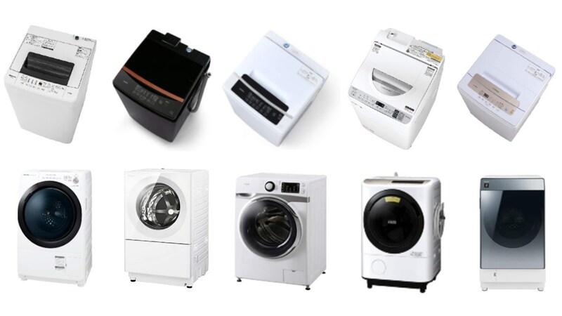 【2021】一人暮らし用洗濯機おすすめ人気ランキング22選|安い、静かなモデルやサイズの相場も解説!