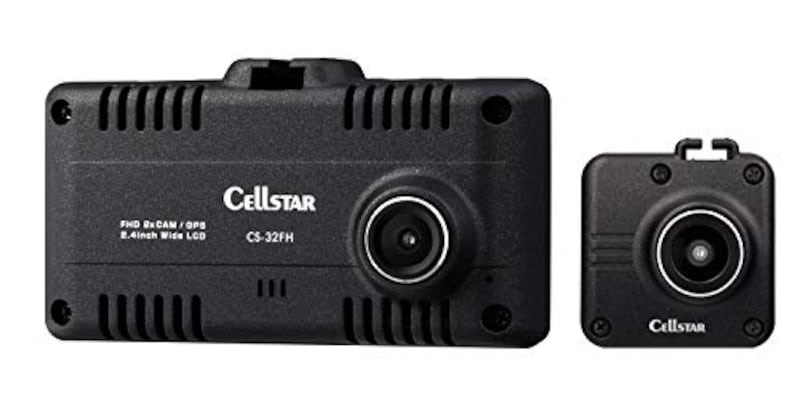 CELLSTAR(セルスター),2カメラドライブレコーダー,CS-32FH