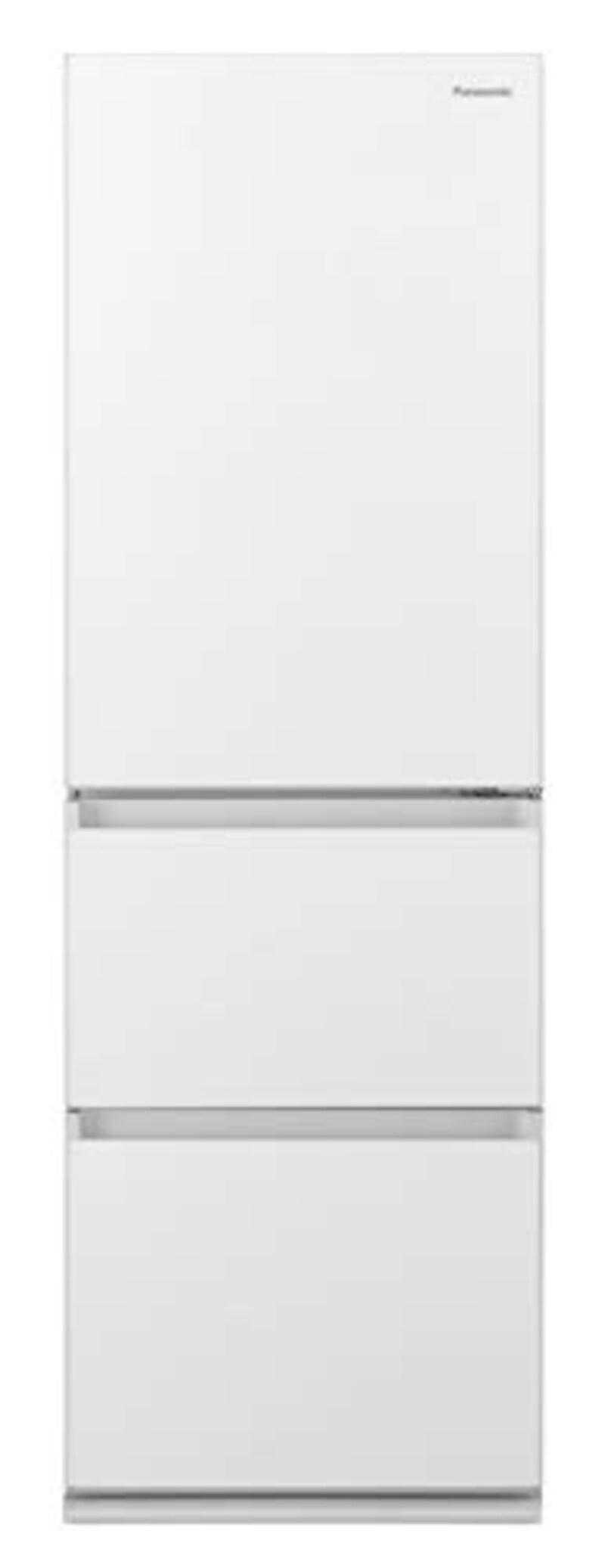 Panasonic(パナソニック),3ドア冷蔵庫  スノーホワイト ,NR-C372GN-W