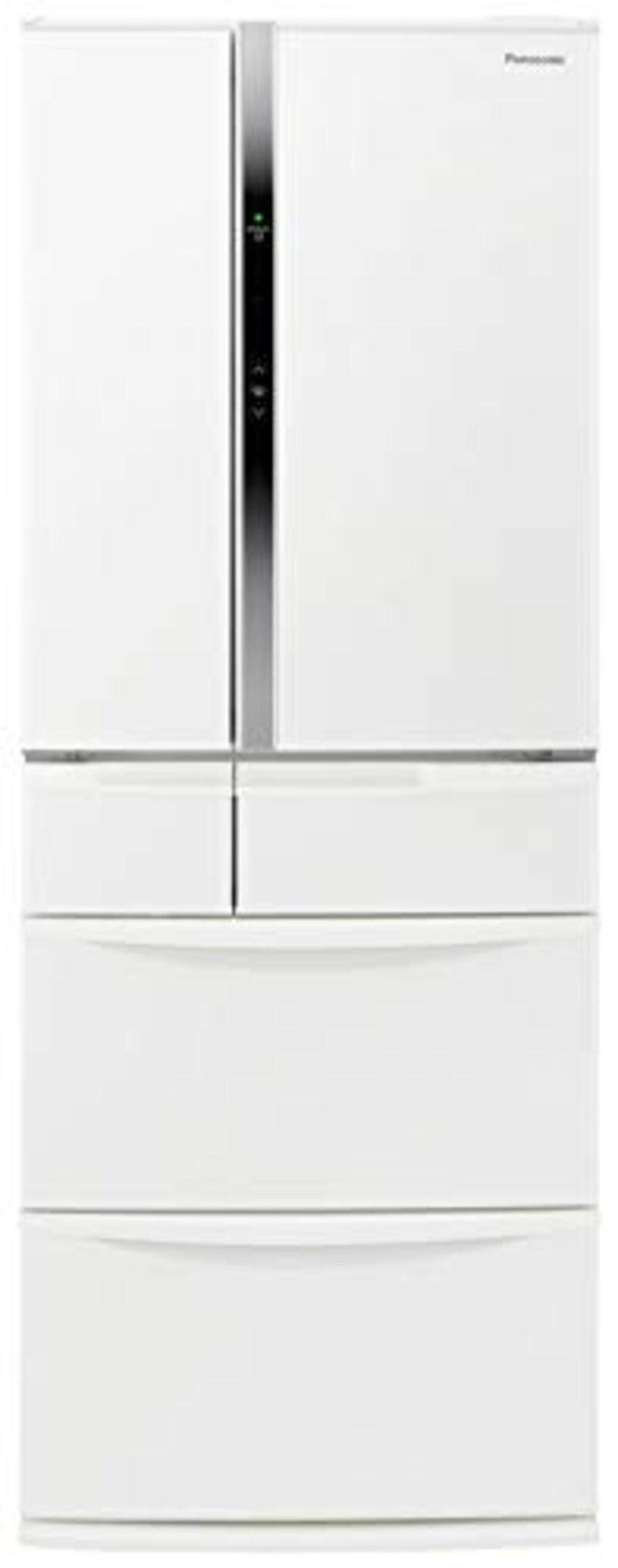 Panasonic(パナソニック),6ドア冷蔵庫  パールホワイト ,NR-FVF456-W