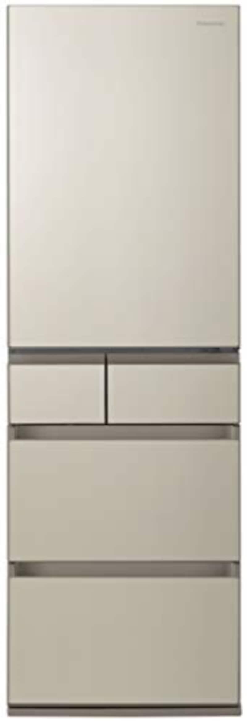 Panasonic(パナソニック),5ドア冷蔵庫  サテンゴールド ,NR-E457PX-N