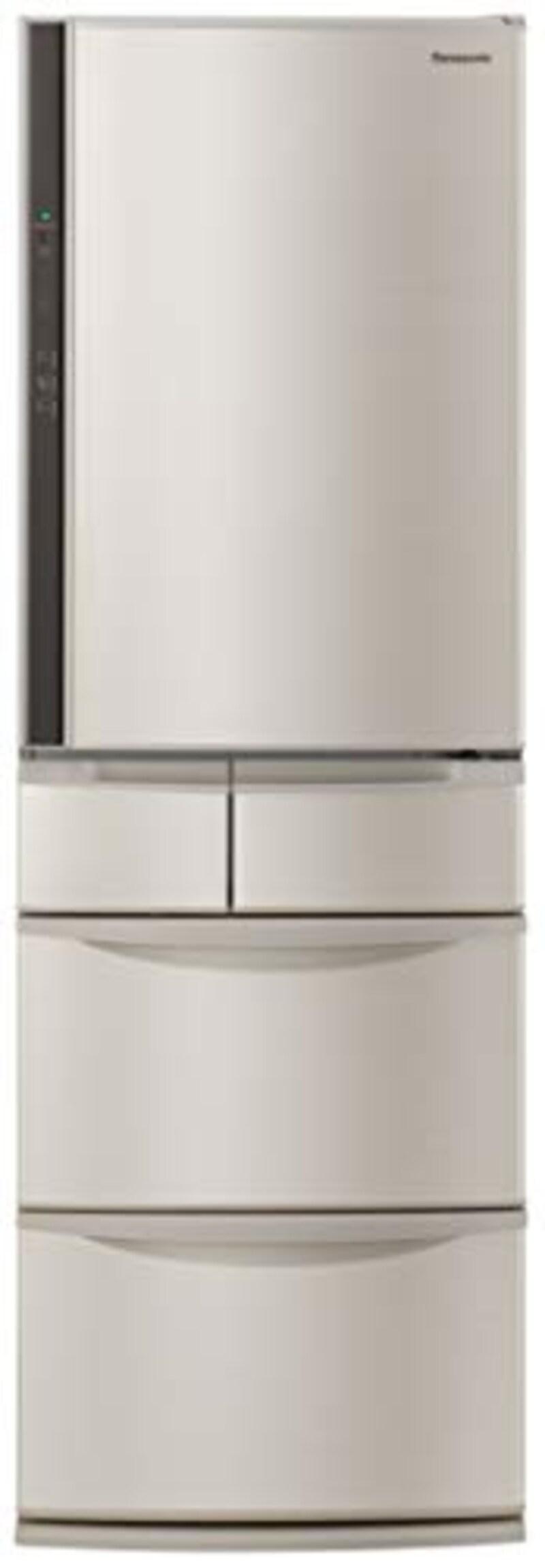 Panasonic(パナソニック), 5ドア冷蔵庫  シャンパン,NR-E416V-N